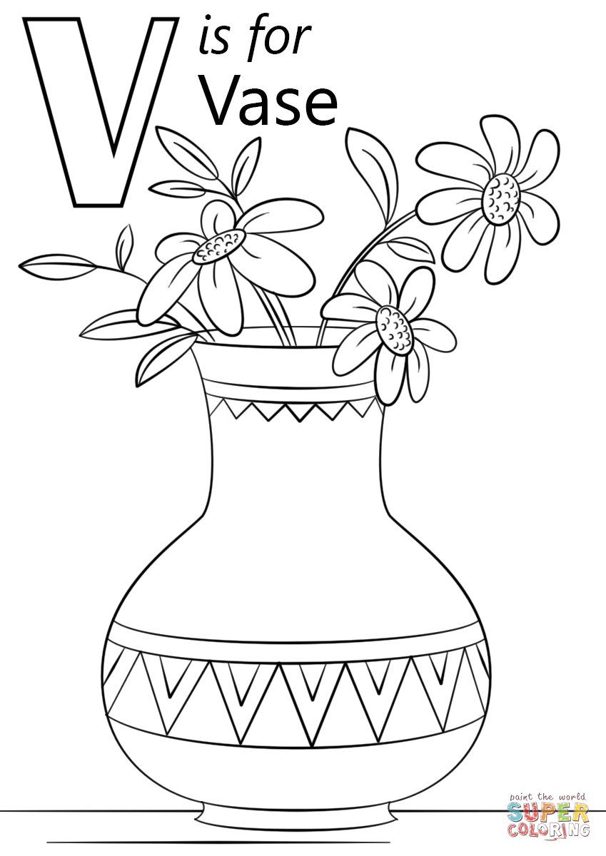 v is for coloring page 29 best alphabet book black white images on pinterest v for coloring page is