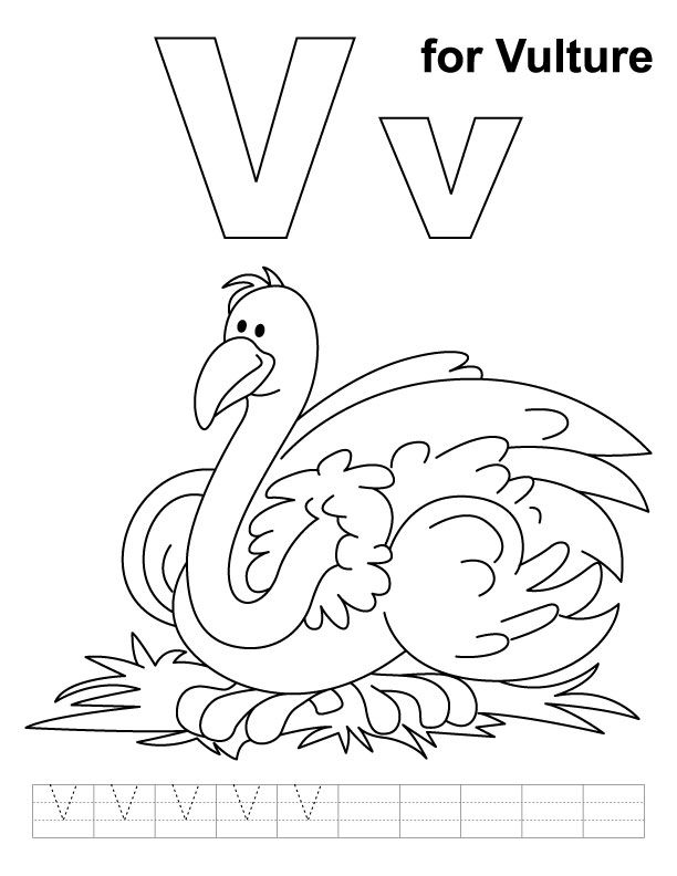 v is for coloring page letter v coloring page coloring home page is coloring v for