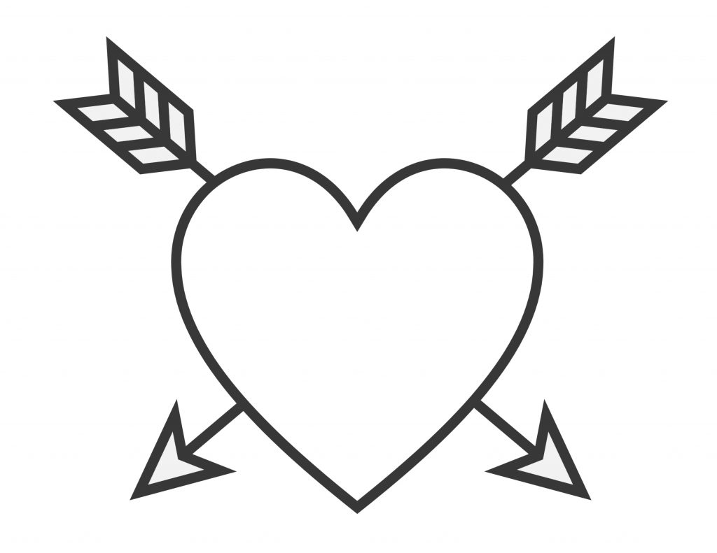 valentines day heart coloring pages easy heart coloring pages for kids stripe patterns day valentines pages heart coloring