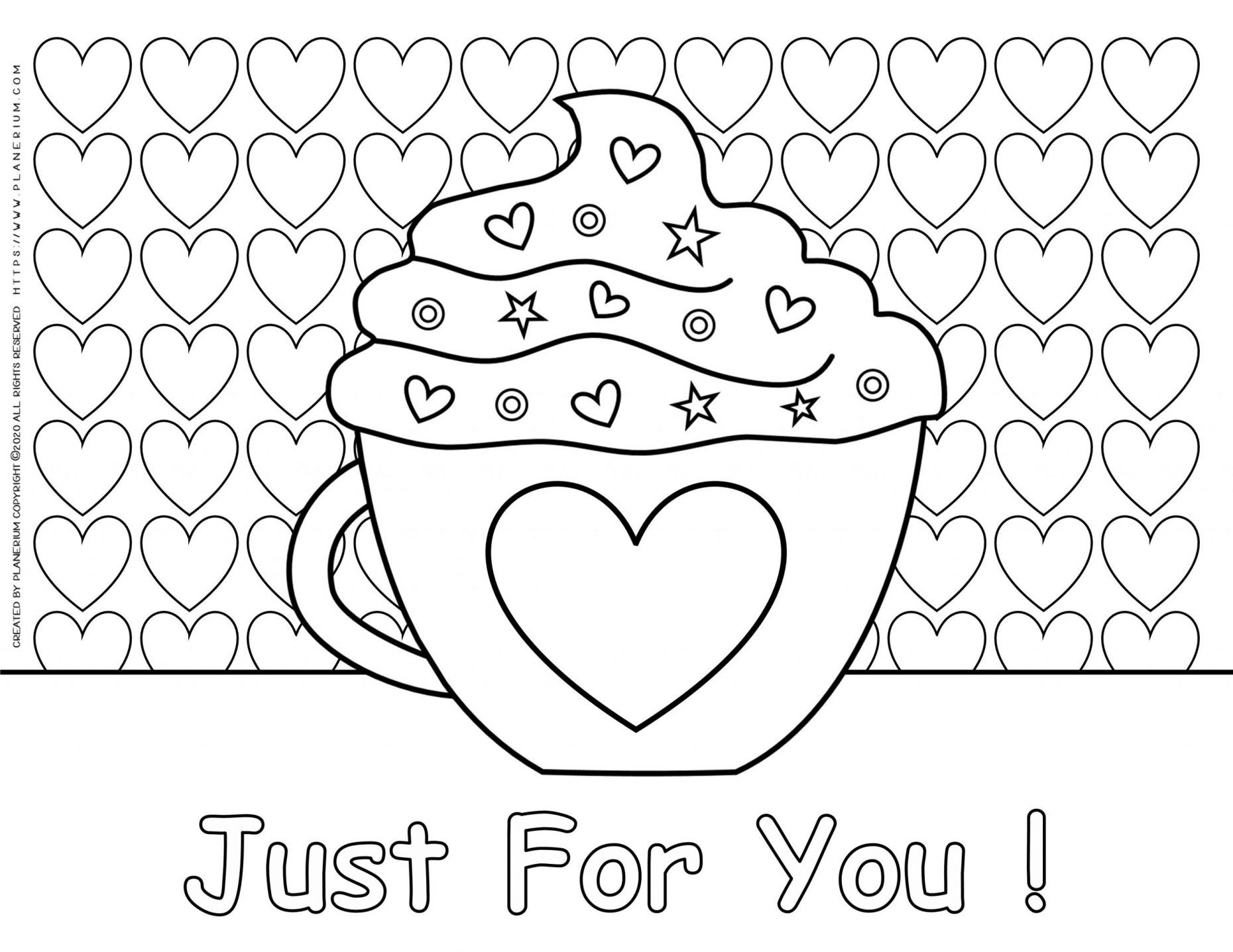 valentines day heart coloring pages filevalentines day hearts alphabet blank2 at coloring heart day pages coloring valentines