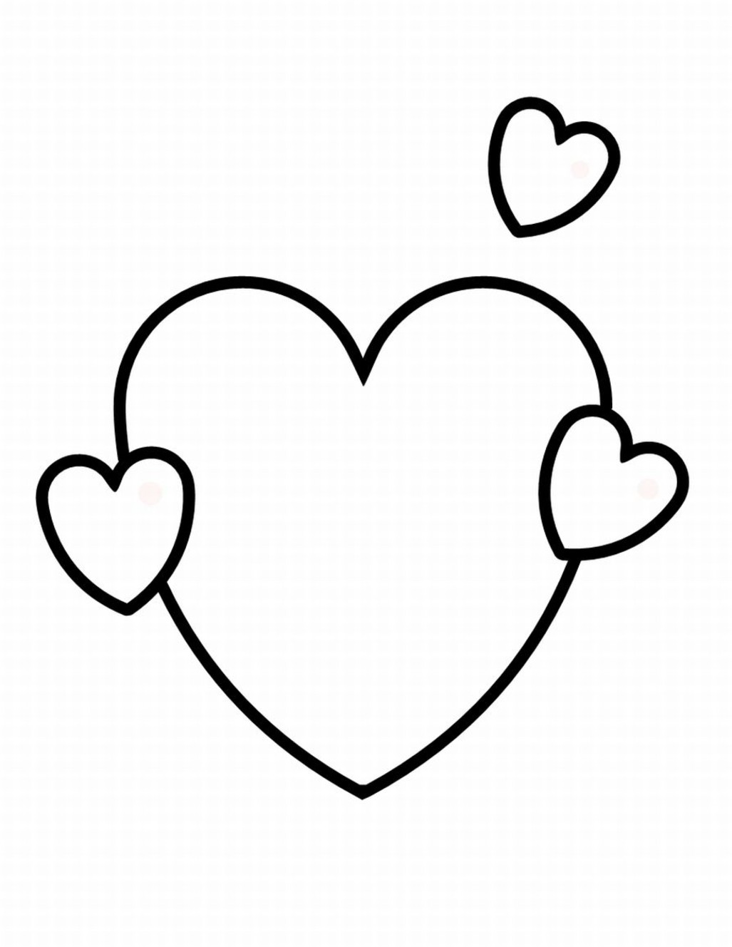 valentines day heart coloring pages heart shape coloring page getcoloringpagescom heart valentines pages coloring day