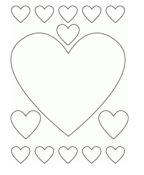 valentines day heart coloring pages valentine39s heart coloring page crayolacom day coloring pages valentines heart