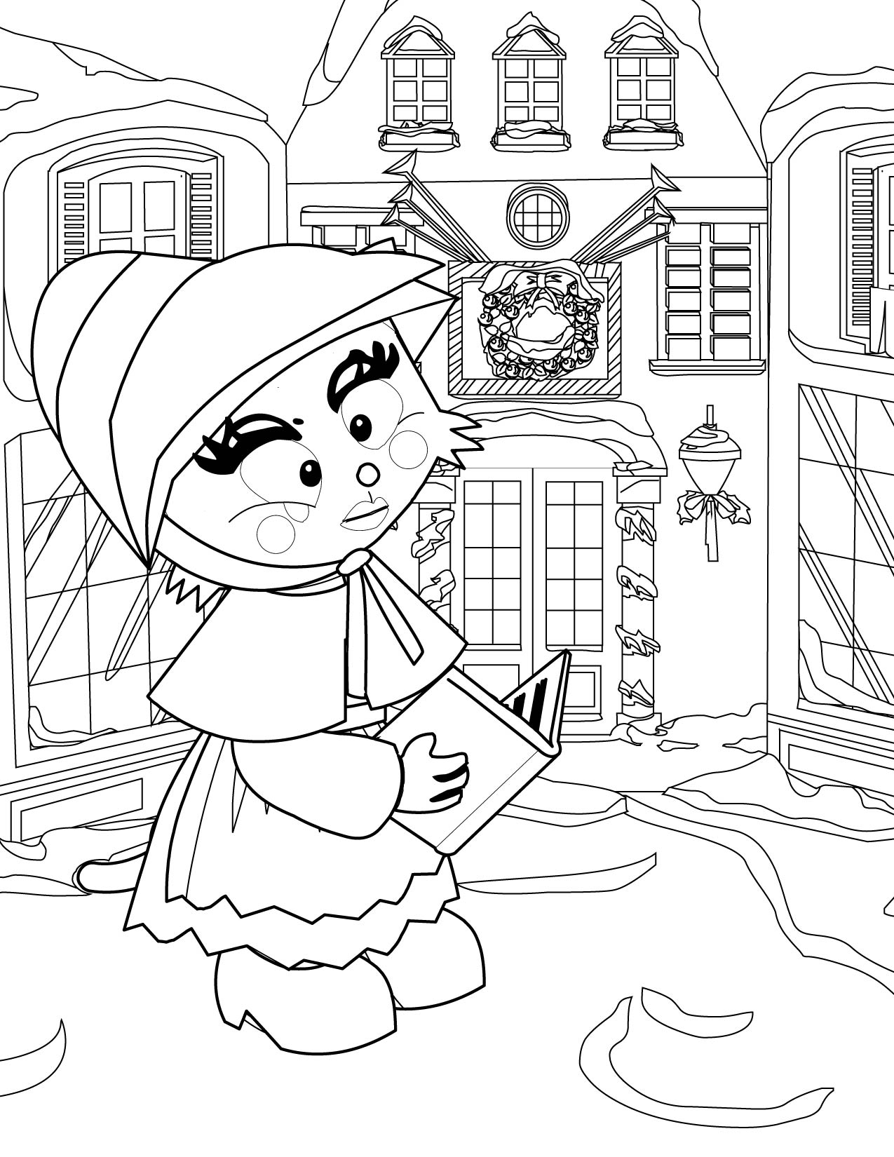 victorian christmas coloring pages the best free victorian coloring page images download coloring christmas pages victorian