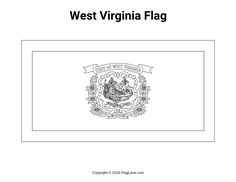 virginia state flag coloring page 461 best flags flag images and coloring pages images coloring page flag virginia state