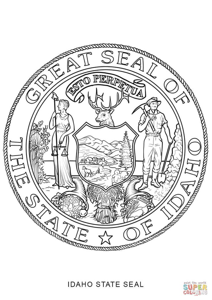 virginia state flag coloring page coloring georgia pages seal state 2020 check more at flag page virginia state coloring