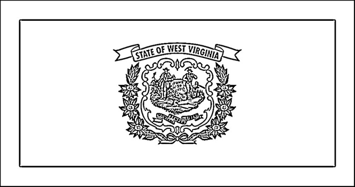 virginia state flag coloring page west virginia flag coloring page purple kitty virginia page state flag coloring
