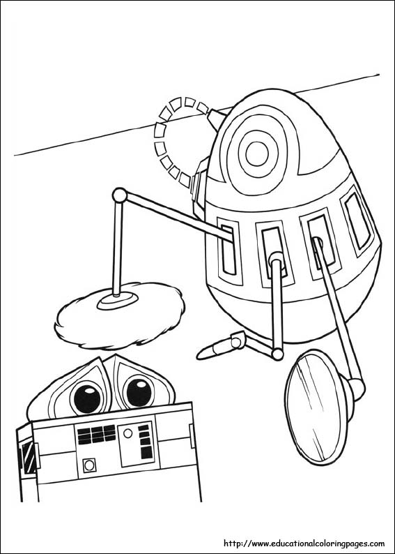 wall e coloring pages coloring page eve and wall e wall e pages coloring