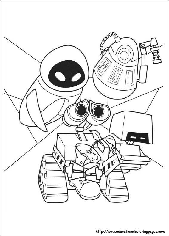 wall e coloring pages wall e and eve coloring pages at getcoloringscom free wall e pages coloring