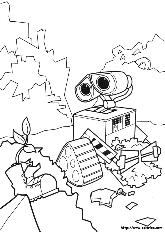 wall e coloring pages wall e part 2 coloring pages cartoons for 4 years kids pages coloring wall e