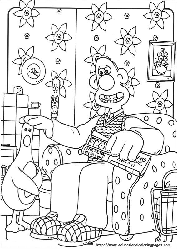 wallace and gromit pictures to print wallace and gromit color page cartoon characters coloring to and gromit wallace print pictures