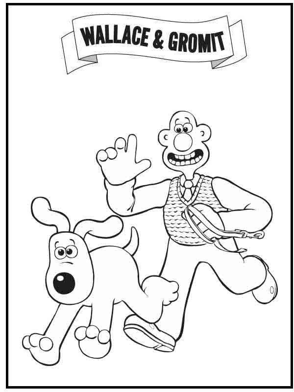 wallace and gromit pictures to print wallace and gromit coloring pages getcoloringpagescom print pictures to and wallace gromit