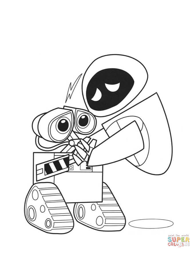 walle and eva comment dessiner wall e et eve youtube and walle eva