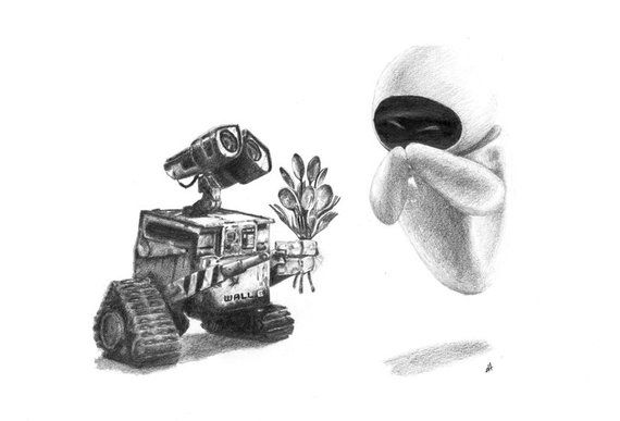 walle and eva wall e revector by kna on deviantart and eva walle