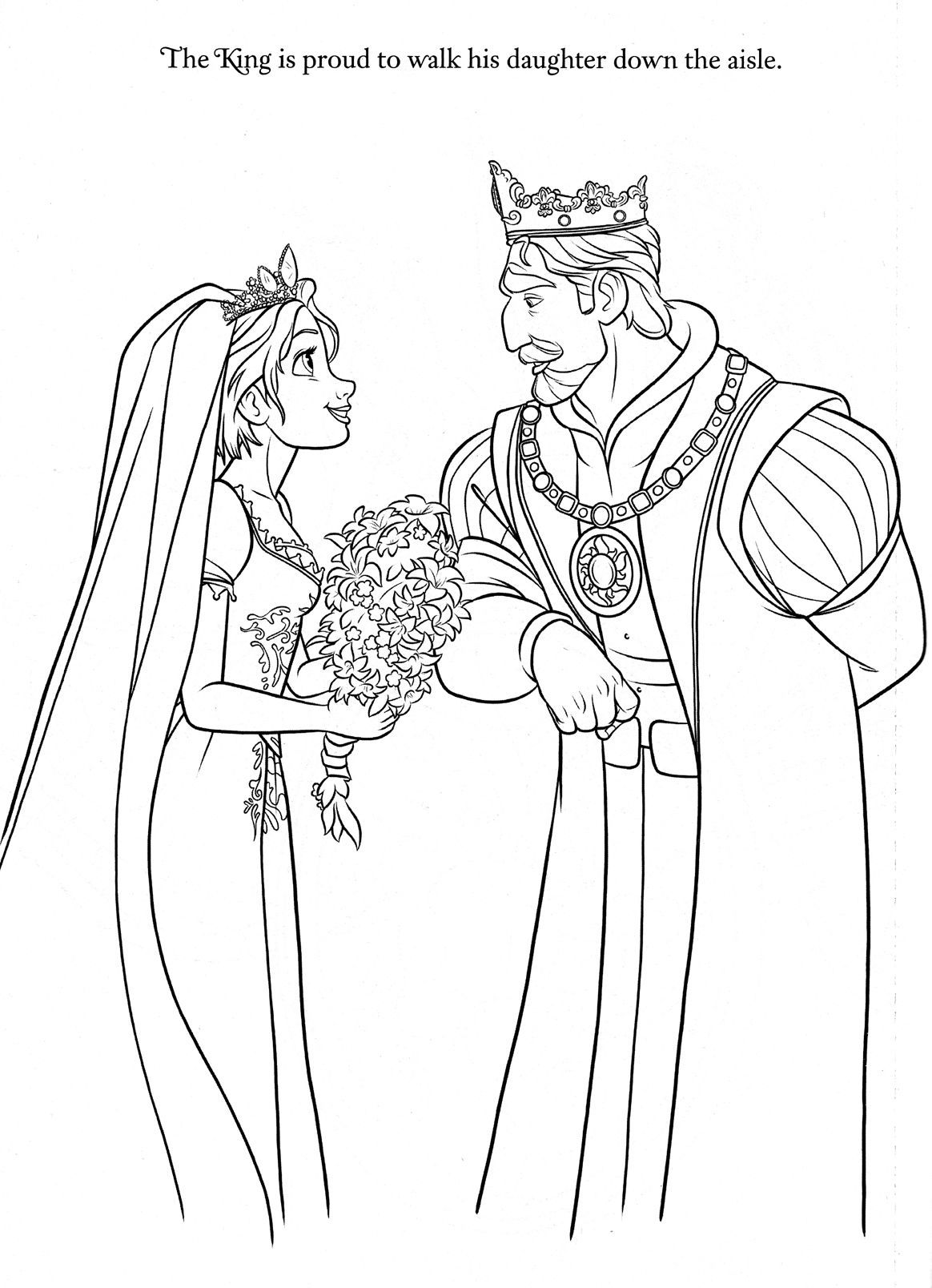 wedding day disney wedding coloring pages rapunzel wedding coloring papges 10 months ago with 36 wedding wedding pages disney coloring day