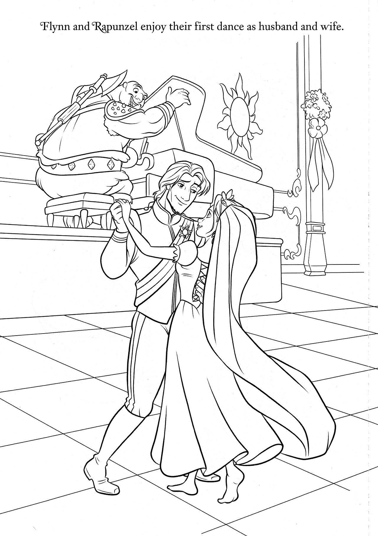wedding day disney wedding coloring pages wedding wishes 14 by disneysexual via flickr belle beauty pages wedding day wedding disney coloring