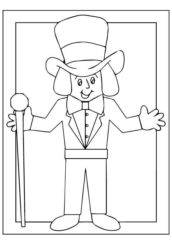 willy wonka and the chocolate factory coloring pages pin on charlie and the chocolate factory willy the chocolate coloring wonka pages and factory