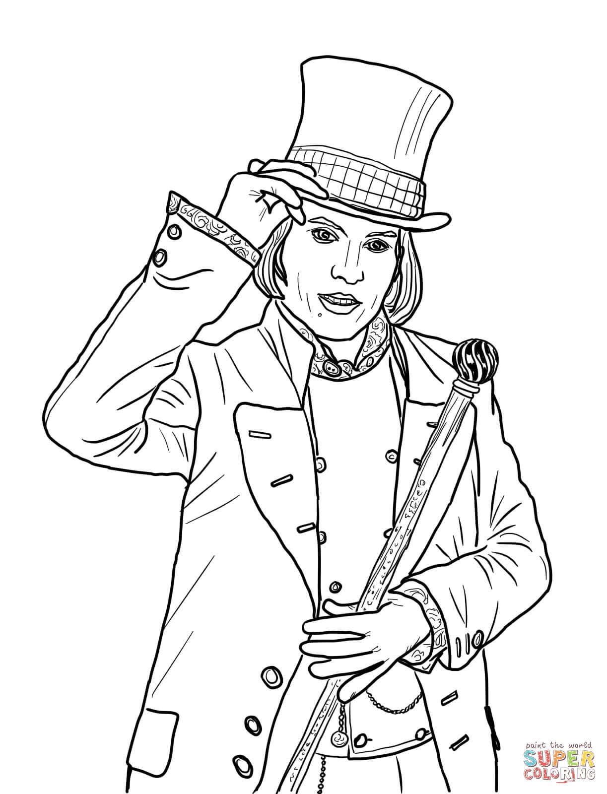 willy wonka and the chocolate factory coloring pages top 10 charlie and the chocolate factory coloring pages wonka and willy chocolate factory the coloring pages
