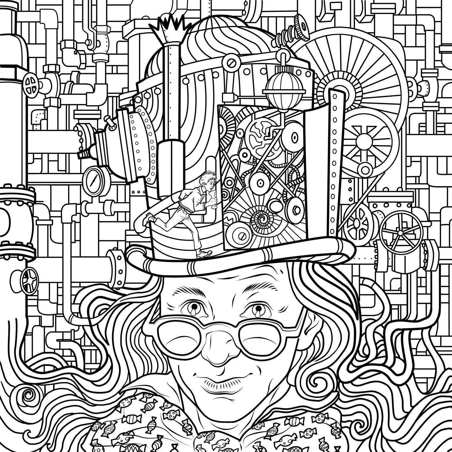 willy wonka and the chocolate factory coloring pages willy wonka and the chocolate factory coloring pages the wonka factory coloring chocolate and willy pages