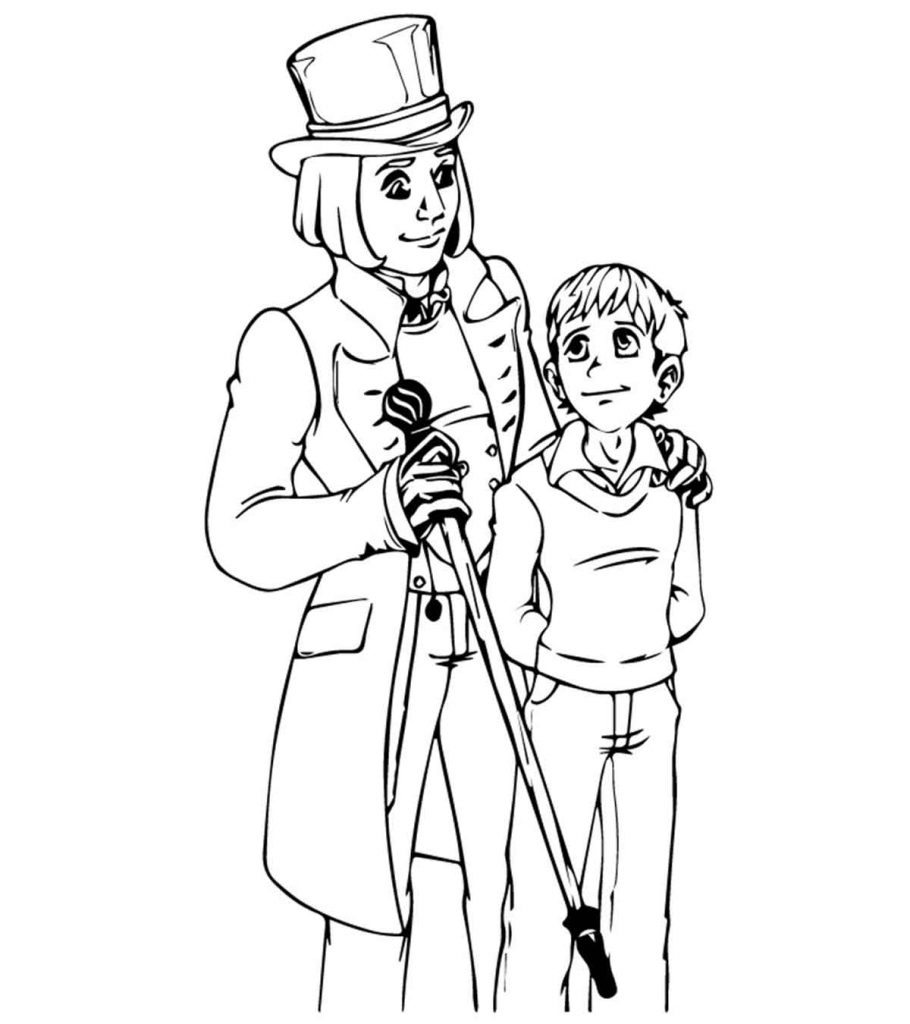 willy wonka and the chocolate factory coloring pages willy wonka with gene wilder coloring page free coloring factory willy pages and the wonka chocolate