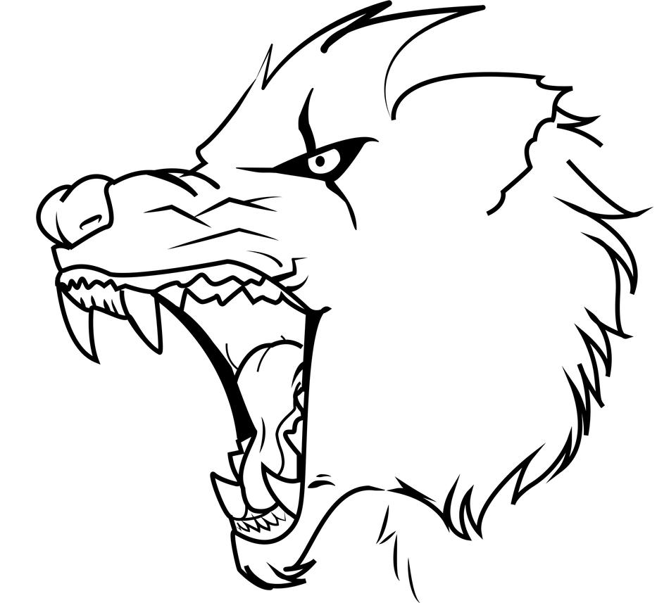 wolf drawing easy easy wolf drawings free download on clipartmag easy drawing wolf 1 1