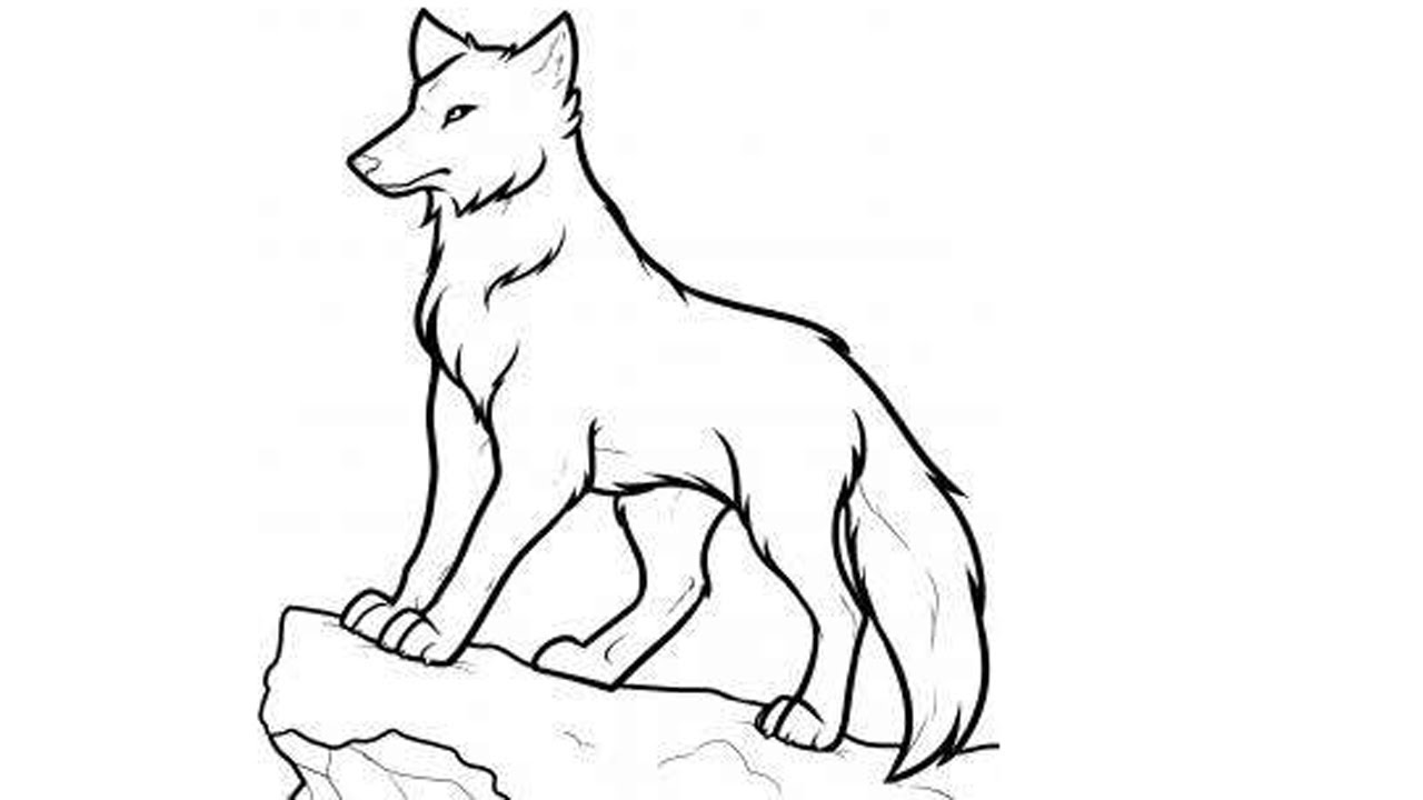 wolf drawing easy simple wolf drawings free download on clipartmag wolf drawing easy