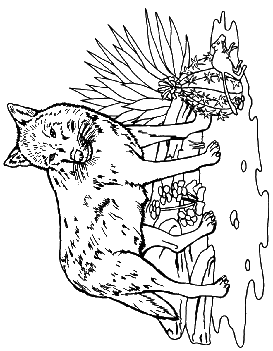 wolf pictures to color and print wolf drawing for kids at getdrawings free download and print wolf pictures to color