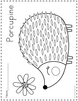 woodland animal coloring pages woodland animals coloring pages by the kinder kids tpt animal coloring pages woodland