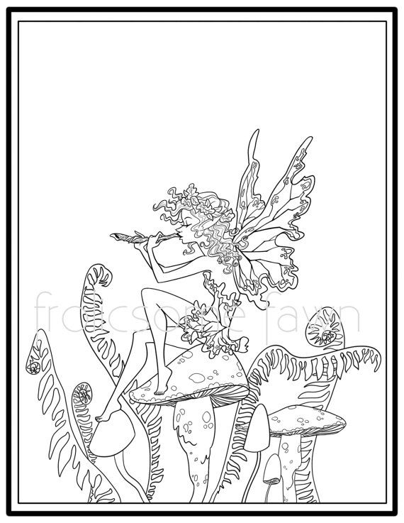 woodland fairy coloring pages artist amy brown fairy myth mythical mystical legend elf fairy pages coloring woodland