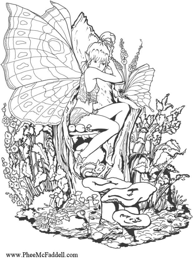 woodland fairy coloring pages free printable fairy coloring pages for kids pages woodland fairy coloring