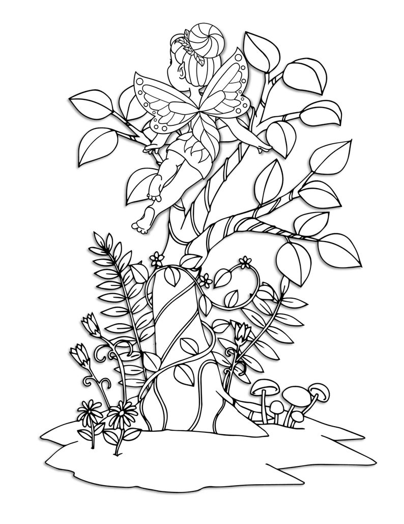 woodland fairy coloring pages woodland fairy coloring pages coloring home coloring fairy pages woodland