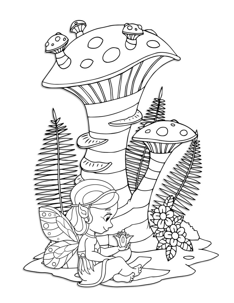 woodland fairy coloring pages woodland fairy coloring pages coloring home coloring woodland fairy pages