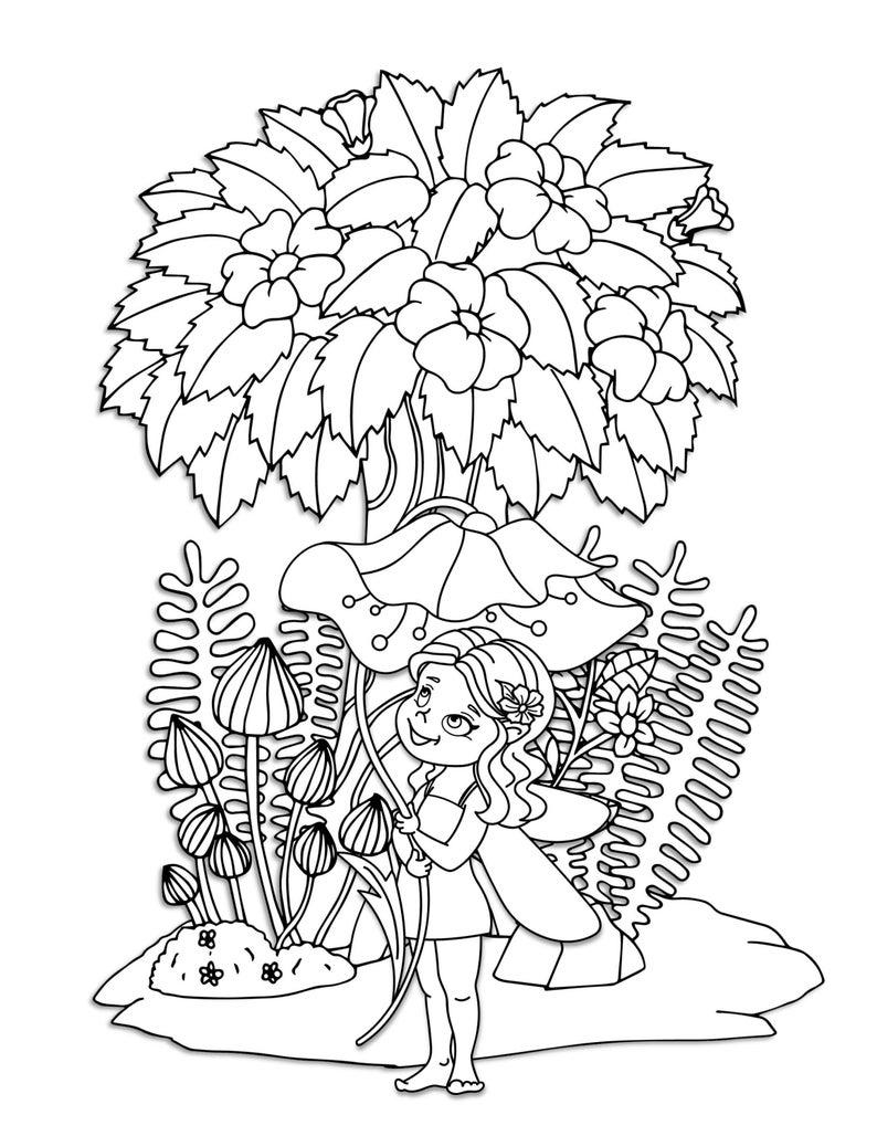 woodland fairy coloring pages woodland fairy coloring pages coloring home woodland pages fairy coloring