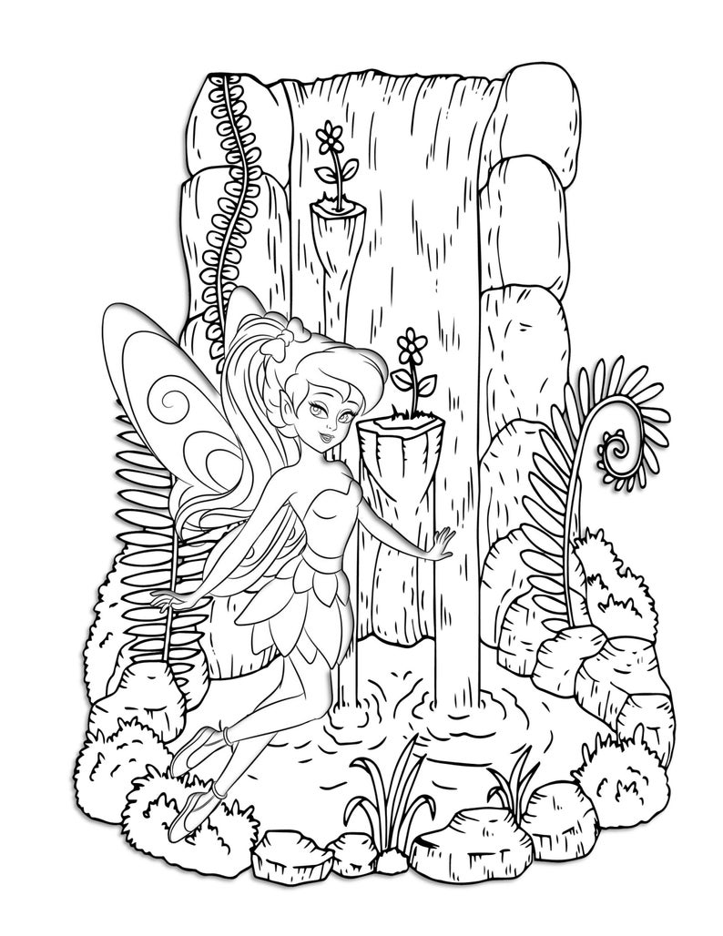 woodland fairy coloring pages woodland fairy coloring pages coloring pages woodland fairy coloring pages
