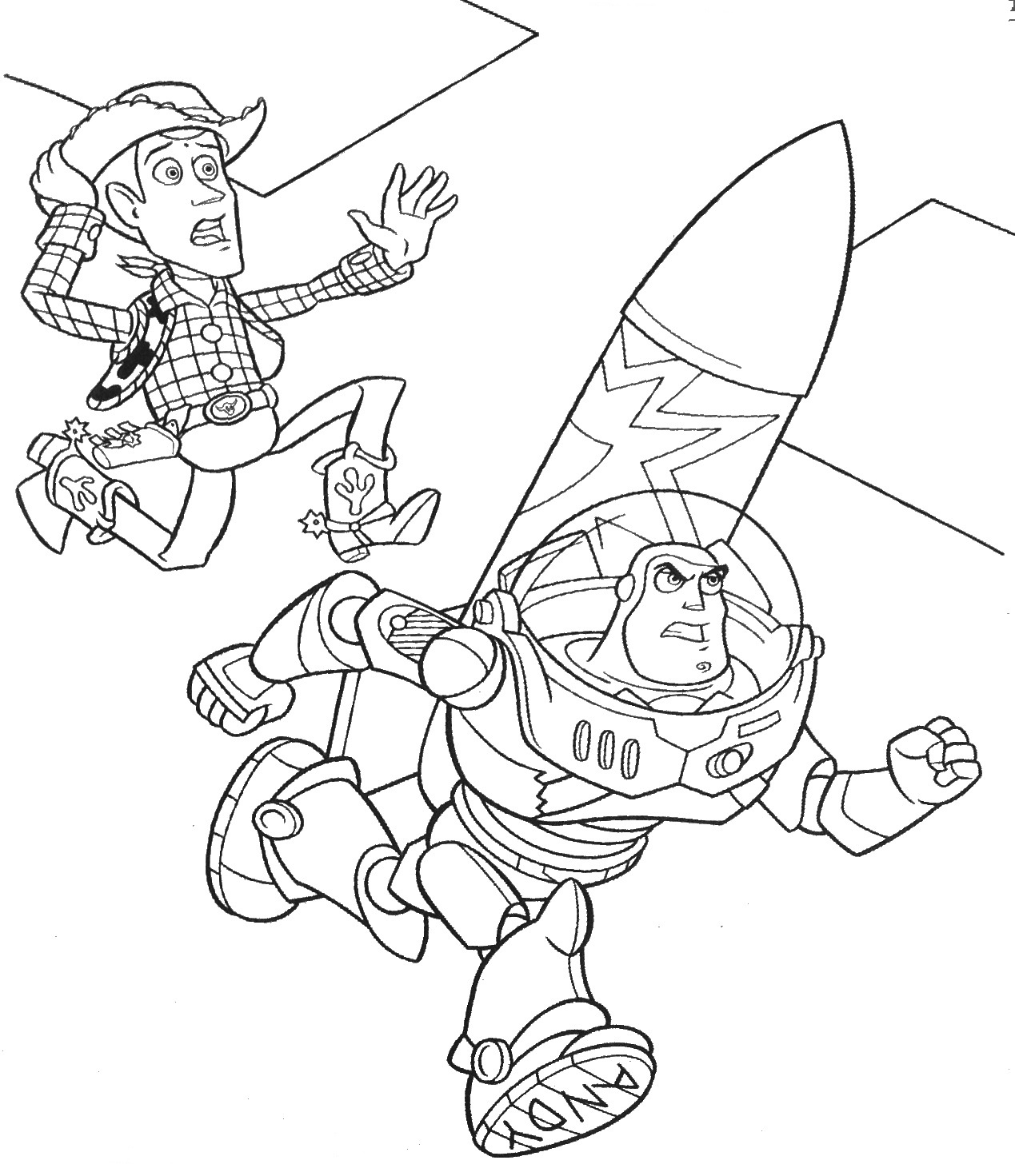 woody and buzz coloring pages toy story coloring pages buzz and woody at getdrawings and pages buzz coloring woody