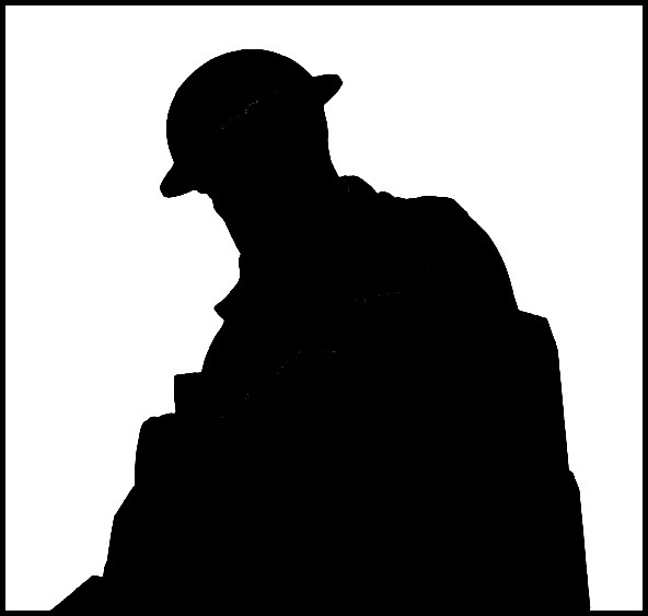 ww1 soldier silhouette a respectful soldier world war 1 tour ypres the somme ww1 soldier silhouette