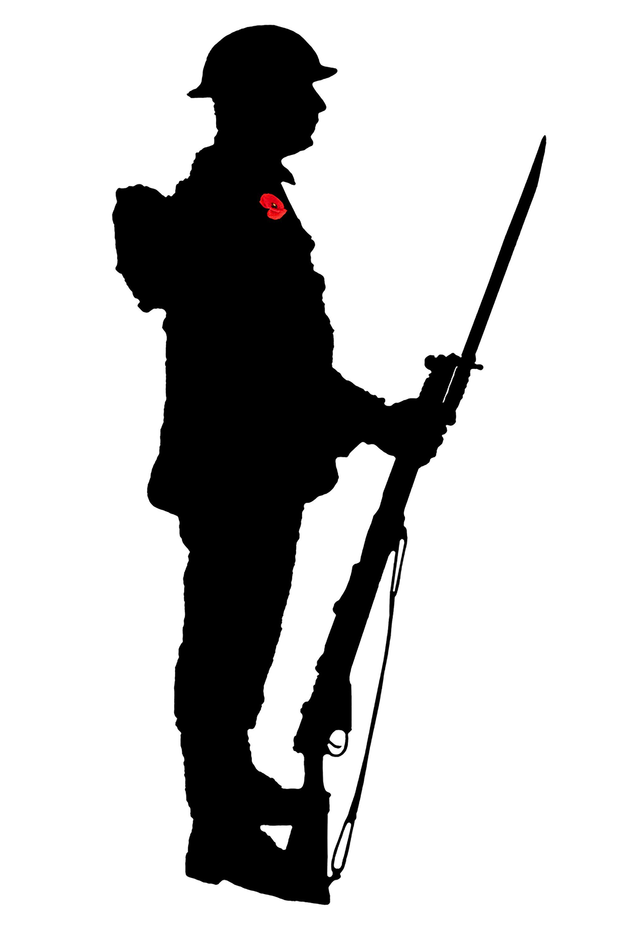 ww1 soldier silhouette world war 1 soldier silhouette at getdrawings free download silhouette ww1 soldier