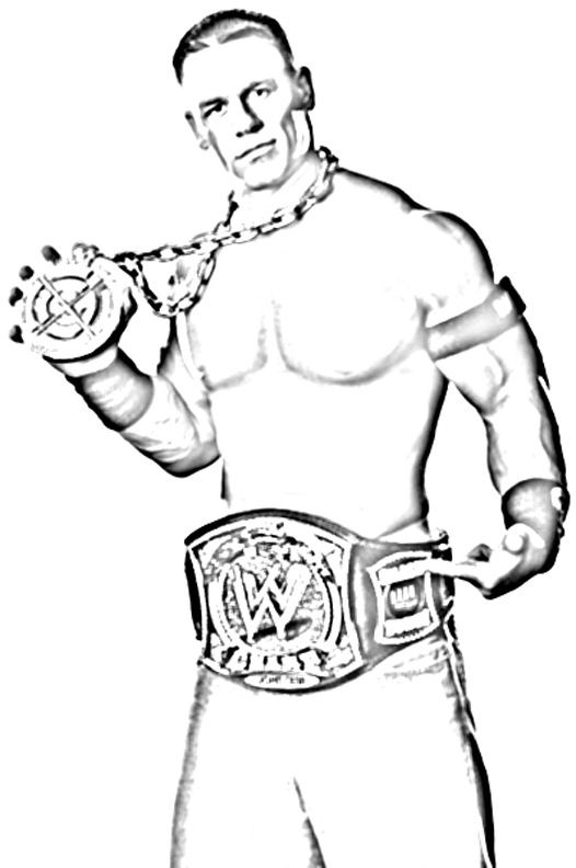 wwe coloring pages to print get this printable wwe coloring pages john cena 31902 wwe pages coloring print to