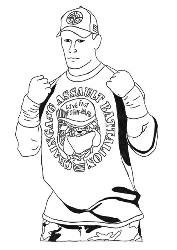 wwe coloring pages to print get this wwe coloring pages free printable 64837 pages print coloring to wwe