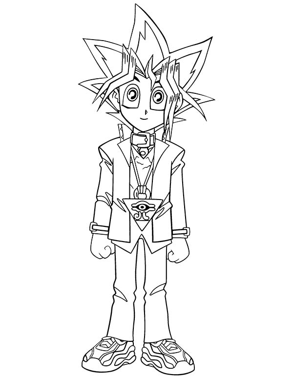 yugioh 5ds coloring pages coloring pages yu gi oh animated images gifs pictures 5ds coloring pages yugioh