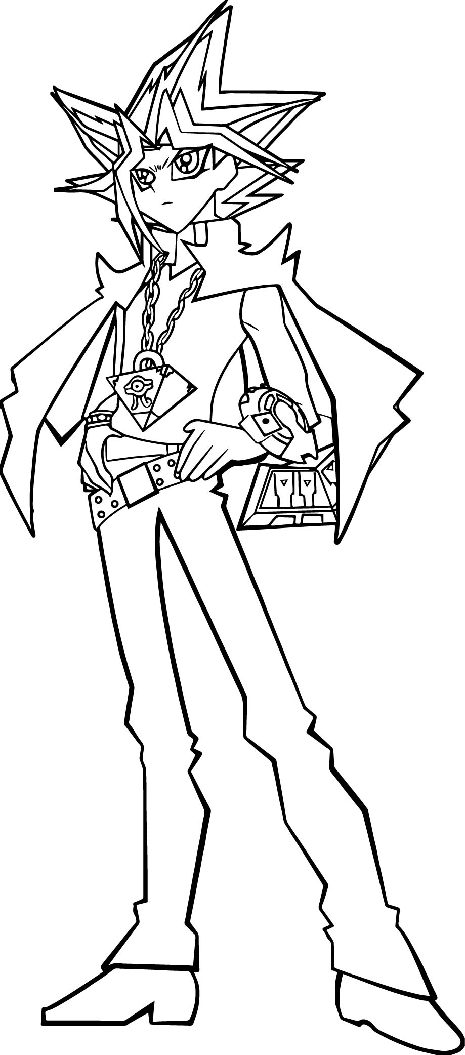 yugioh 5ds coloring pages yu gi oh 5ds coloring pages learny kids 5ds coloring pages yugioh