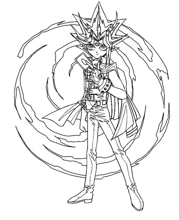 yugioh 5ds coloring pages yu gi oh 5ds coloring pages learny kids 5ds pages yugioh coloring