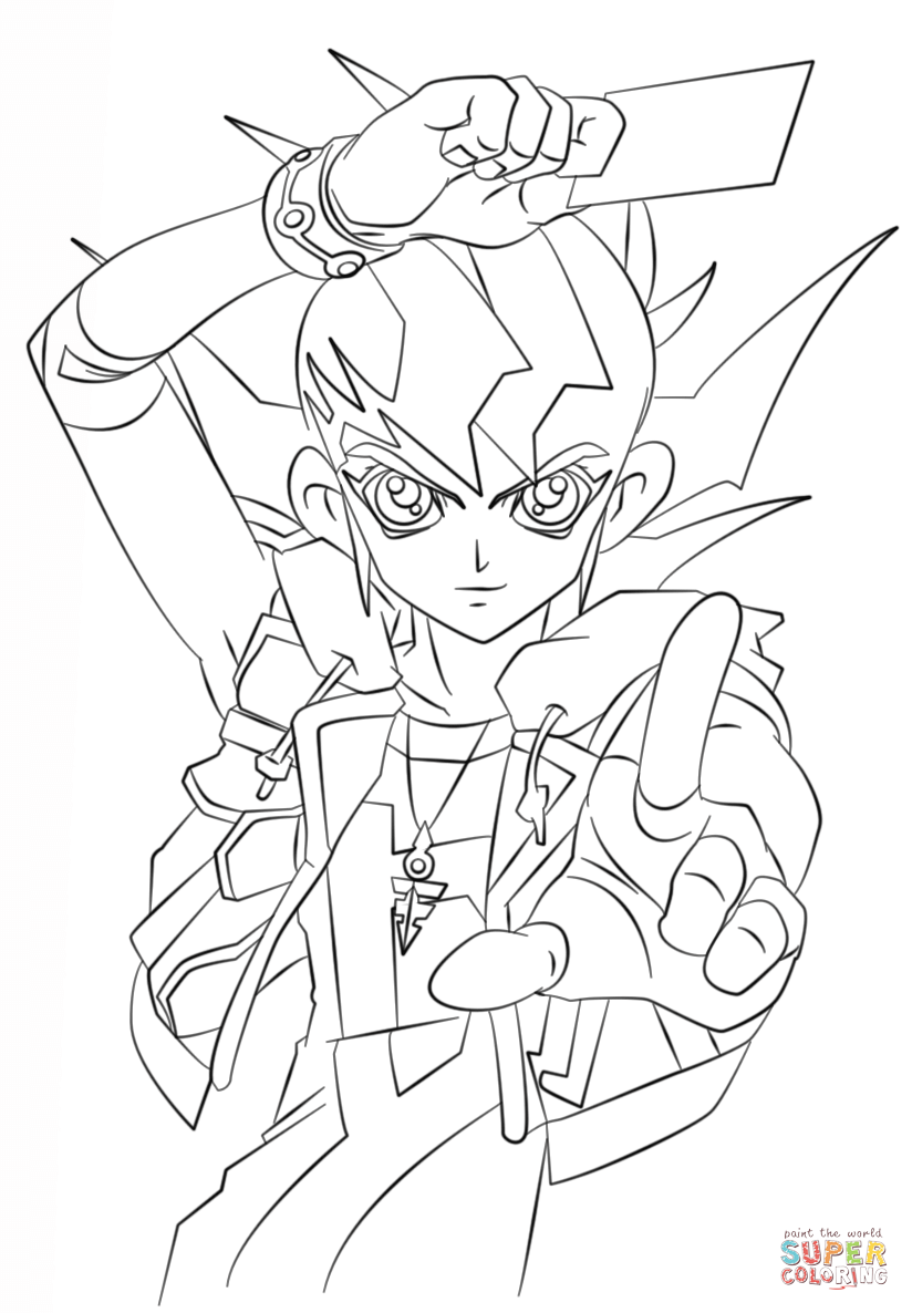 yugioh 5ds coloring pages yu gi oh 5ds coloring pages learny kids pages 5ds coloring yugioh