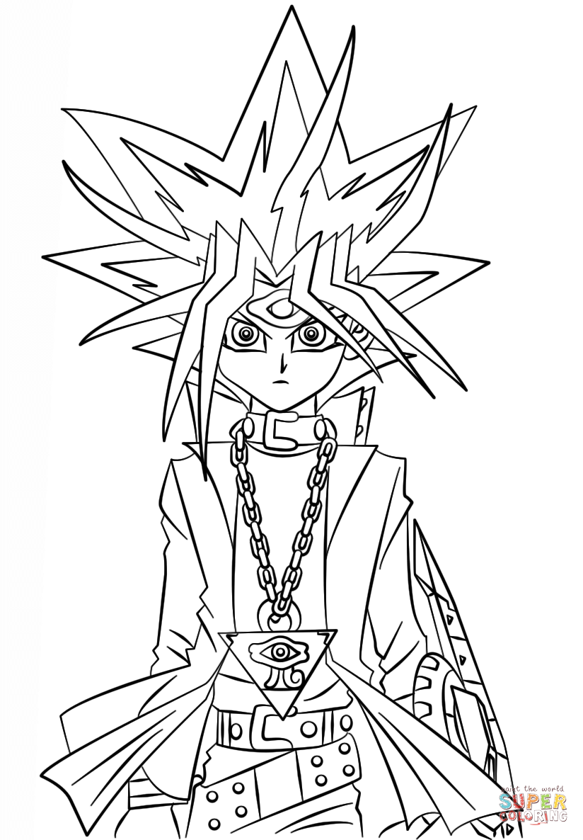 yugioh 5ds coloring pages yu gi oh 5ds coloring pages learny kids yugioh 5ds pages coloring