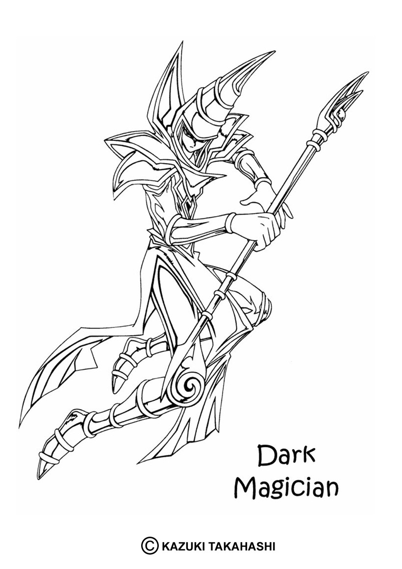 yugioh 5ds coloring pages yu gi oh 5ds coloring pages learny kids yugioh coloring 5ds pages