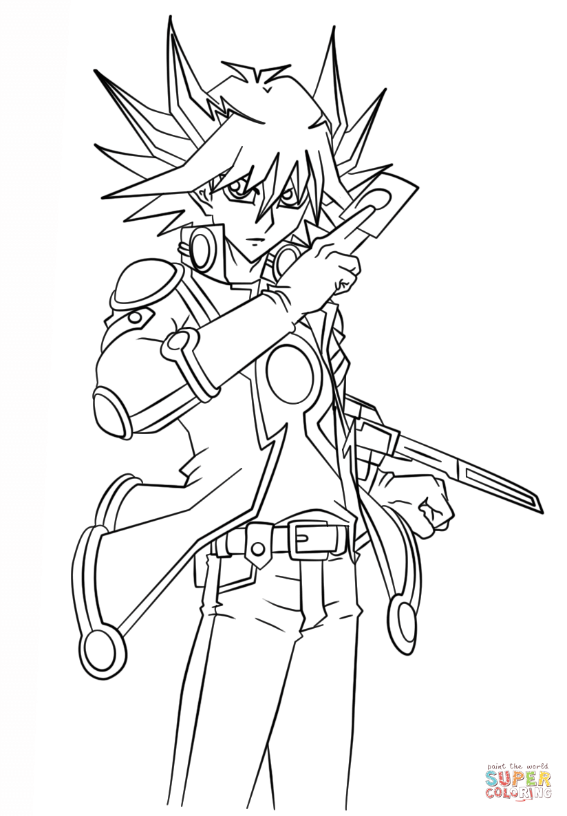 yugioh 5ds coloring pages yu gi oh 5ds pages coloring pages yugioh coloring pages 5ds