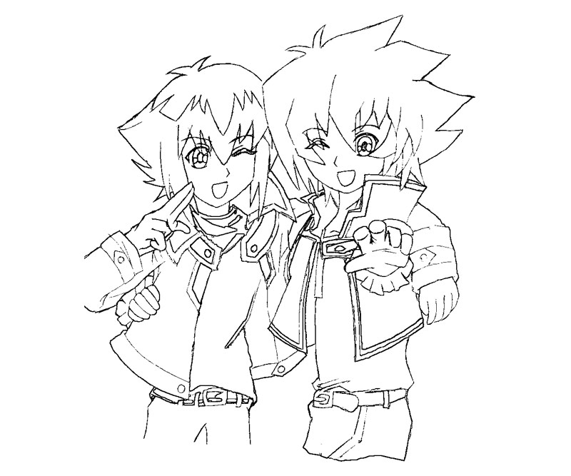 yugioh 5ds coloring pages yu gi oh 5ds yusei coloring pages coloring pages yugioh coloring 5ds pages