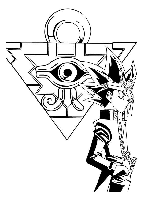 yugioh 5ds coloring pages zexal from yu gi oh coloring page free printable pages coloring 5ds yugioh
