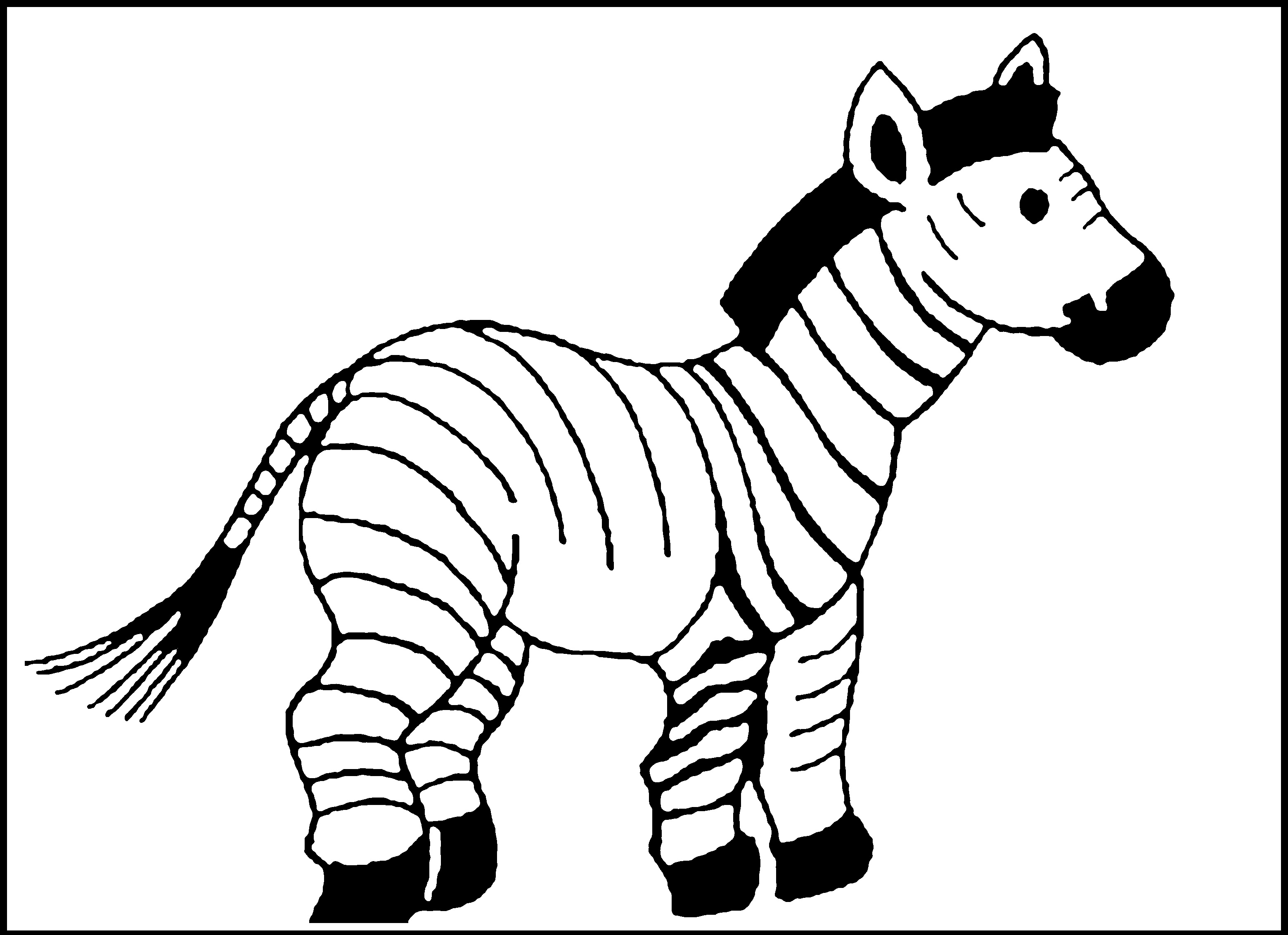 zebra coloring images zebra coloring pages lying down coloringstar clipart coloring zebra images