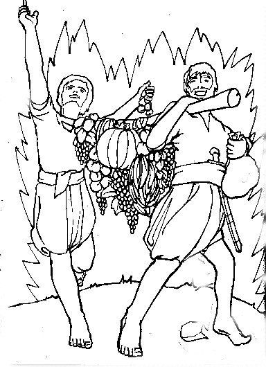 12 spies coloring page joshua and 12 spies coloring pages sketch coloring page page spies coloring 12