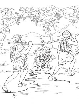 12 spies coloring page the twelve spies coloring page sundayschoolist 12 page coloring spies